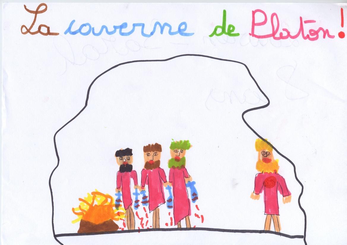 La caverne de Platon, Lauren-Sarah, 8 ans