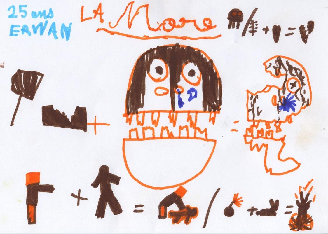 La mort by Erwan, 7 ans