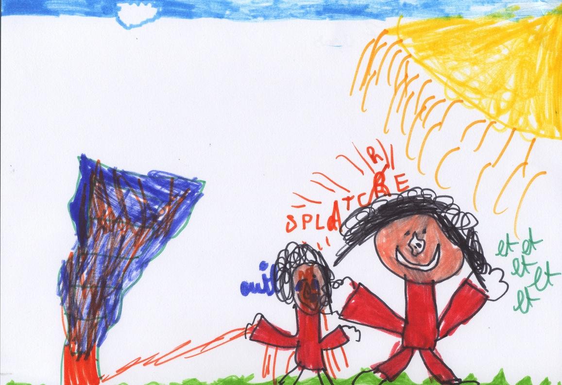 La violence by Hadrian, 7 ans
