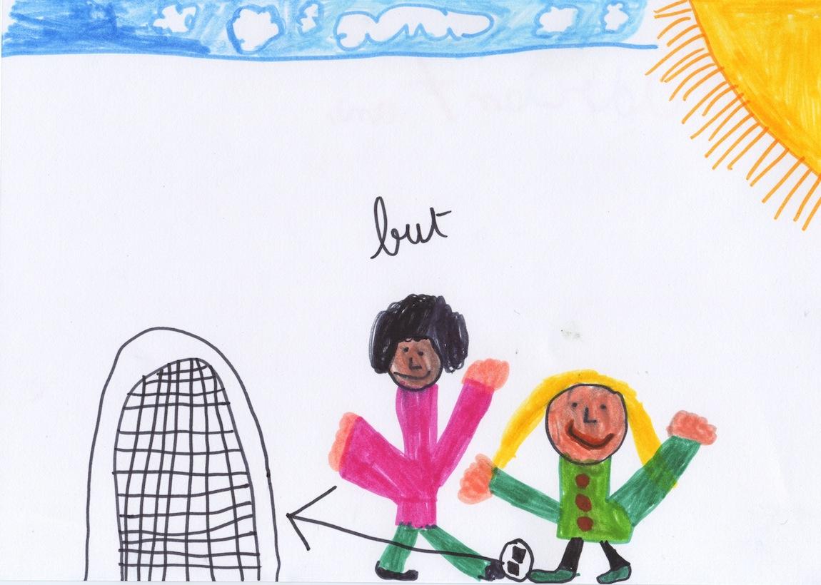 Les filles et les garçons, by Hadrien, 7 ans